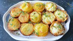 Картофель в микроволновке: рецепты с фото для легкого приготовления