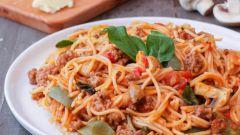 Спагетти с фаршем: рецепты с фото для легкого приготовления
