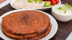 Блины диетические: рецепты с фото для легкого приготовления