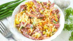 Салаты с морковью и колбасой: пошаговые рецепты с фото для легкого приготовления