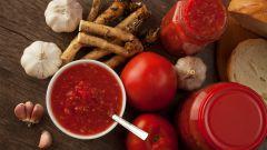 Как приготовить закуску из хрена и помидоров