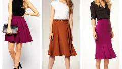 Как и с чем носить юбку-годе