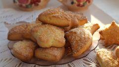 Как приготовить домашнее творожное печенье
