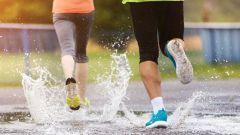Можно ли бегать в дождь
