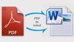 Можно ли документ pdf перевести в ворд