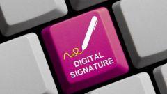 Имеет ли юридическую силу электронная подпись