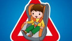 Можно ли возить ребенка на переднем сиденье в автокресле
