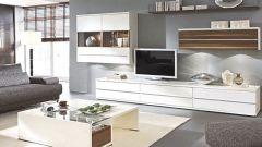 С чего начать выбор мебельной стенки в гостиную