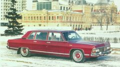 Ретро автомобили: ГАЗ-14 «Чайка»