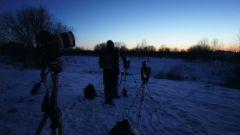 Зимняя любительская астрономия за городом