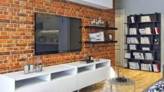 Наиболее простые и распространенные способы имитации кирпичной кладки квартире