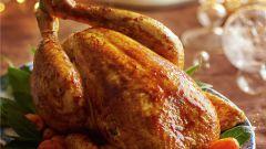 Как приготовить курицу в духовке на Новый год 2019