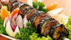 Шашлык из баклажан: пошаговые рецепты с фото для легкого приготовления