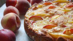 Пироги с нектаринами: пошаговые рецепты с фото для легкого приготовления