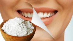 Эффективность соды для отбеливания зубов