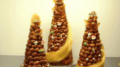 Торт из профитролей: пошаговые рецепты с фото для легкого приготовления