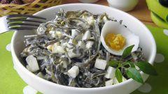 Салат из морской капусты с яйцом: пошаговые рецепты с фото для легкого приготовления