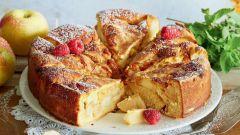Шарлотка с яблоками на кефире: пошаговые рецепты с фото для легкого приготовления