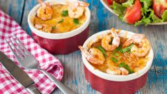 Рецепт жюльена с креветками