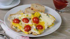 Яичница с помидорами: пошаговые рецепты с фото для легкого приготовления