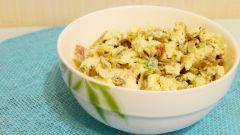 Как приготовить салат со стручковой фасолью и омлетом: пошаговый рецепт с фото