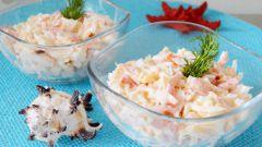 """Как приготовить салат """"Красное море"""""""