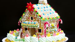 Как испечь пряничный домик к Новому году и Рождеству