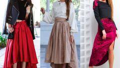 Асимметричная юбка: как выбрать, с чем сочетать