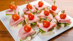 Канапе из колбасы: пошаговые рецепты с фото для легкого приготовления