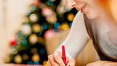 Как правильно написать новогоднюю открытку