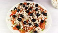 Салаты с оливками: пошаговые рецепты с фото для легкого приготовления