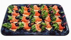 Канапе из рыбы: пошаговые рецепты с фото для легкого приготовления