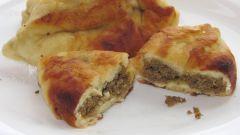 Рецепт жареных пирогов с печенью