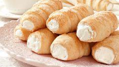 Слоеные трубочки с белковым кремом: пошаговые рецепты с фото для легкого приготовления