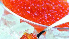 Хранение красной икры в морозилке