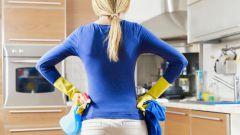 Как помыть плиту без химии