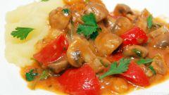 Гуляш с грибами: пошаговые рецепты с фото для легкого приготовления