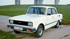 Ретро-автомобили: модель «Москвич 2140»