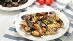 Паста с мидиями: пошаговые рецепты с фото для легкого приготовления