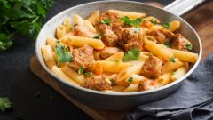 Паста с индейкой: пошаговые рецепты с фото для легкого приготовления