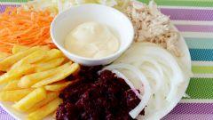 Салат «Медео»: пошаговый рецепт с фото