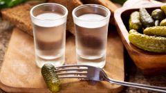 Чем нельзя закусывать водку