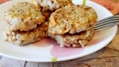 Котлетки из гречки с морковью: пошаговый рецепт с фото