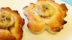 Маффины с бананами, орехами и корицей: пошаговый рецепт с фото