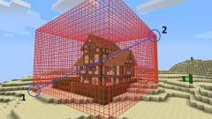 Как поставить и снять сетку привата в MineCraft