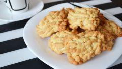 """Как приготовить печенье """"Хризантемы"""" (домашнее печенье через мясорубку)"""