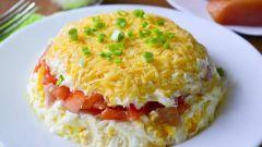 """Рецепт салата """"Минутка"""", обогнавшего по популярности """"Мимозу"""" и """"Оливье"""""""