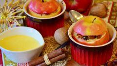 Как приготовить фаршированные яблоки