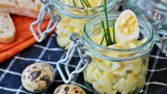 Как приготовить яичный салат