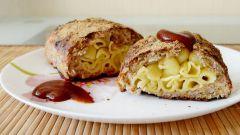 Мясной рулет с макаронами: пошаговый рецепт с фото